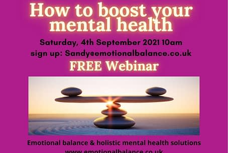 How to boost your mental health